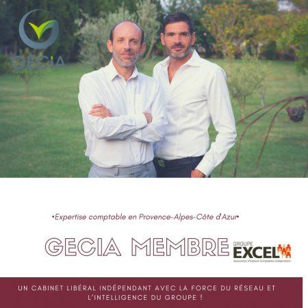 Pourquoi Gecia est-il membre du groupe Excel?