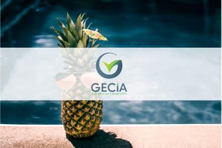 Bonnes vacances avec Gecia.